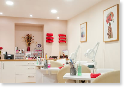 Interior Of The Nail Studio